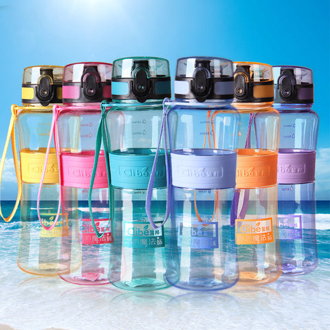 Leak-Proof Large Capacity Sport Bottles