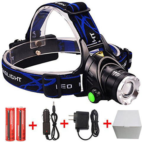 Headlamp With 3 Light Modes