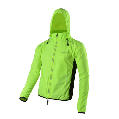 Reflective Breathable Cycling Wind Coat Windcoat