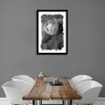 Brushed Blooms - 1x Large Art print, Protea 1