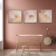 Blush Dreams - 3x 60x60cm Art Prints - ON SALE