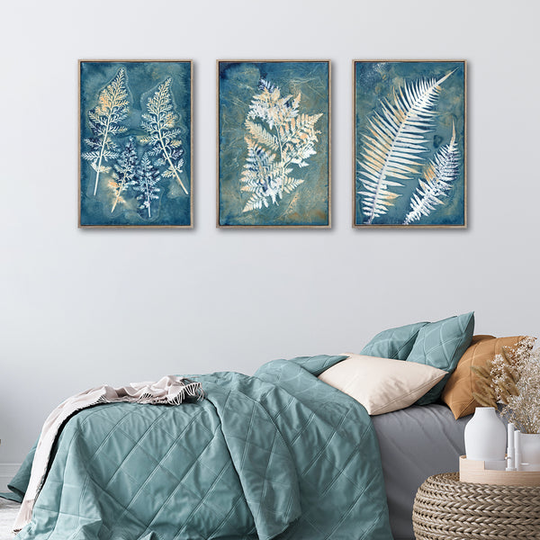 Botany Blue - 3x A2 Art prints