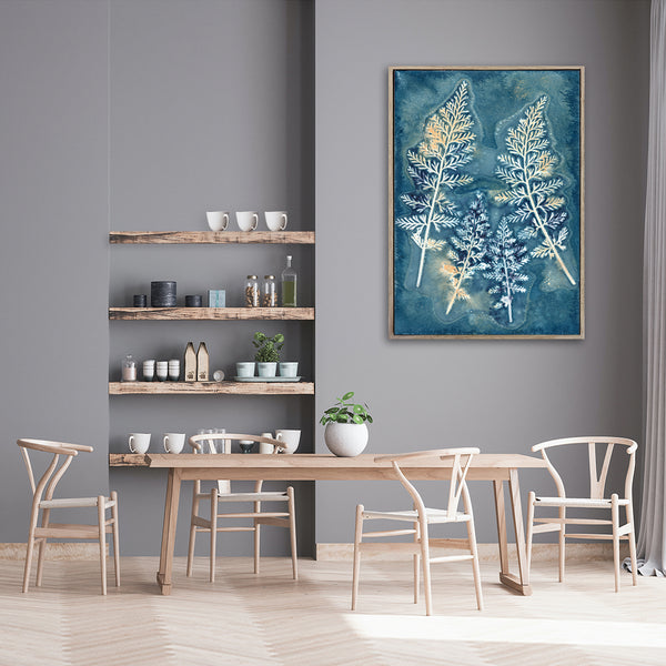 Botany Blue - 1x A0 Art print, no2