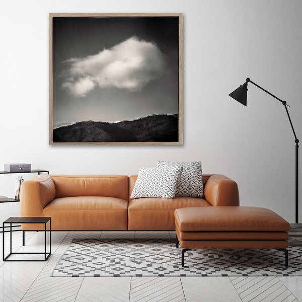 Cloudscapes, Mountain - 100x100cm Art Print