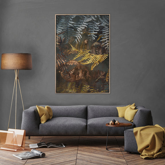 Earthy Ferns 1 - 100x150cm Art print
