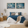 Infinite Blue - 2x Large Art prints, set 1