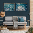 Infinite Blue - 2x Large Art prints, set 2