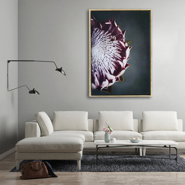 King on Gray 2 - 100x150cm Art print