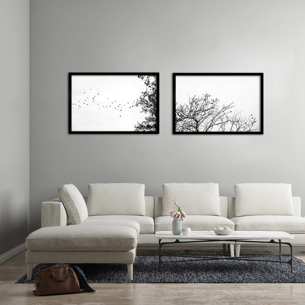 Land Ink - 2x Large Art prints, set 2