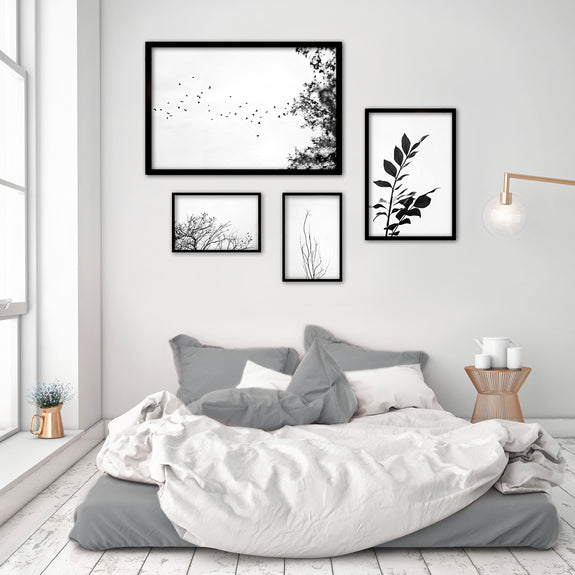 Land Ink Gallery Wall - 4x Art prints