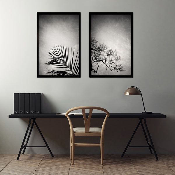 Mansion of the Sky - 2x Large Art prints, set 2