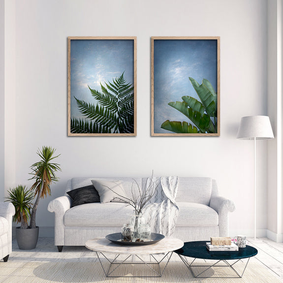 Mansion of the Sky - 2x Large Art prints, colour