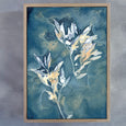Botany Blue - 2x Large Art prints, set 3