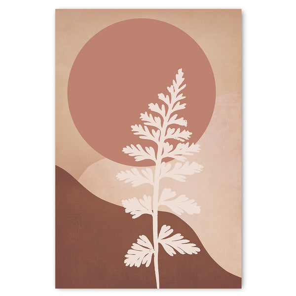 Unframed Art Print - Colour Field Botanical 1