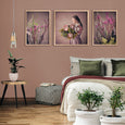 Protea Girl Gallery Wall - Set of 3x Art prints