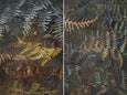 Earthy Ferns - 2x Large Art prints, set 1