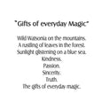 The Gifts of Everyday Magic Art print