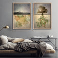 Horizon, Mountain & Tree - 2x Large Art prints