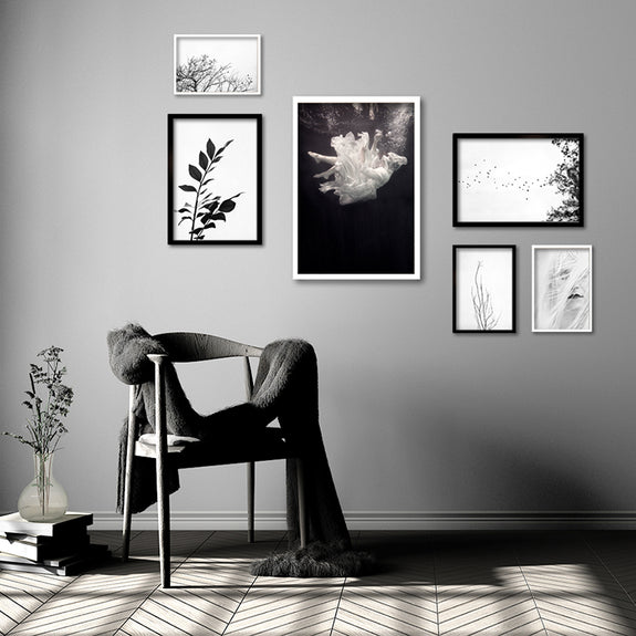 Monochrome Gallery Wall for Shan Simmonds