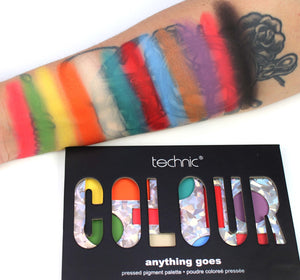 Technic Limited Edition 'Anything Goes' pressed pigment eye-shadow palette