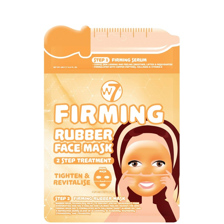 Firming 2 Step Treatment Rubber Face Mask