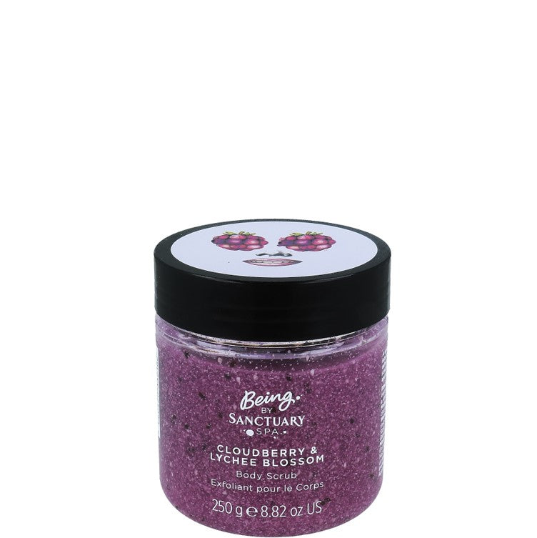 Sanctuary Spa Being Cloudberry & Lychee Blossom Body Scrub 250g