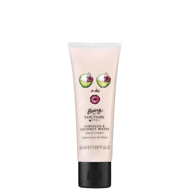 Sanctuary Spa Hibiscus & Coconut Water Hand Cream 50ml