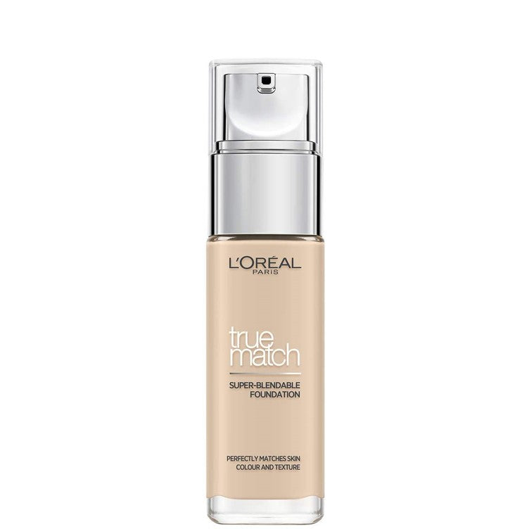 L'Oreal 0.5 Porcelain True Match Super-Blendable Foundation 30ml