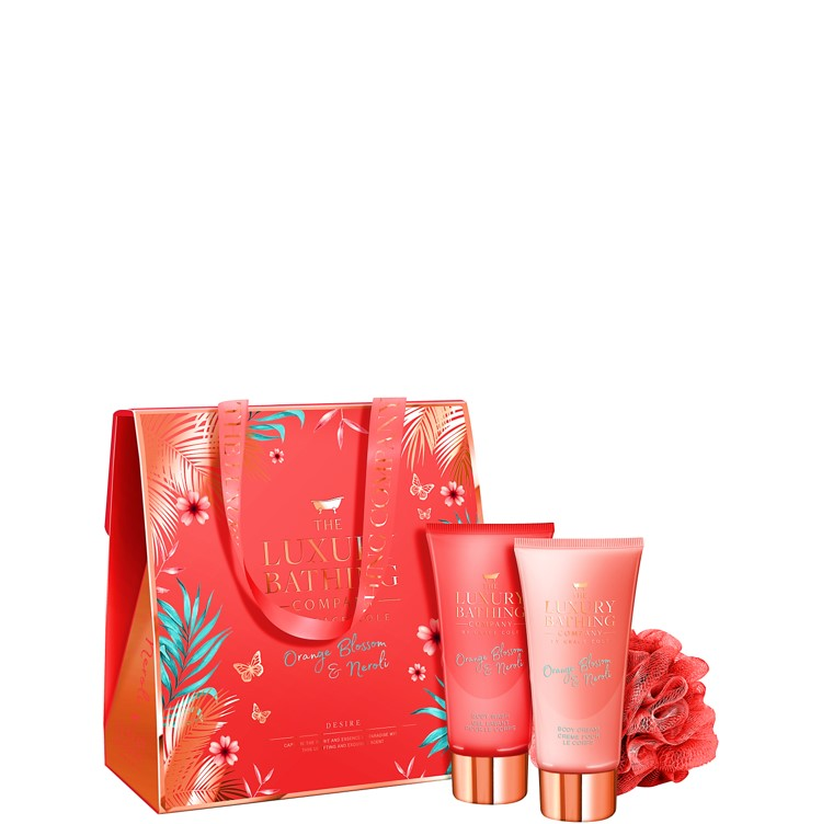 The Luxury Bathing Company by Grace Cole Desire 3 piece Gift Set
