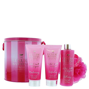 The Luxury Bathing Company by Grace Cole Tranquil Treats 4 piece Set