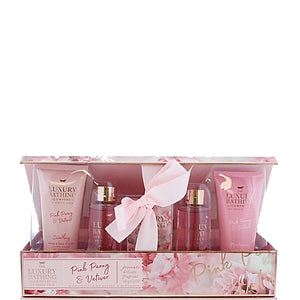 The Luxury Bathing Company by Grace Cole Delicate Bloom 5 piece Gift Set