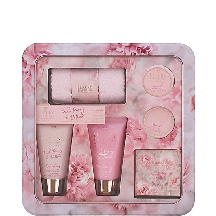 The Luxury Bathing Company by Grace Cole Pampered Petals 6 piece Gift Set