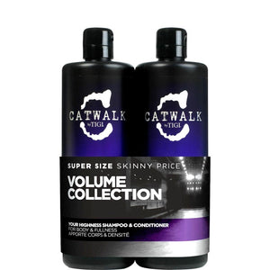Tigi Catwalk Shampoo & Conditioner Your Highness 2x750ml