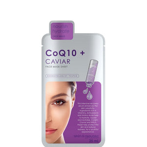 SkinRepublic CoQ10 + Caviar Face Sheet Mask