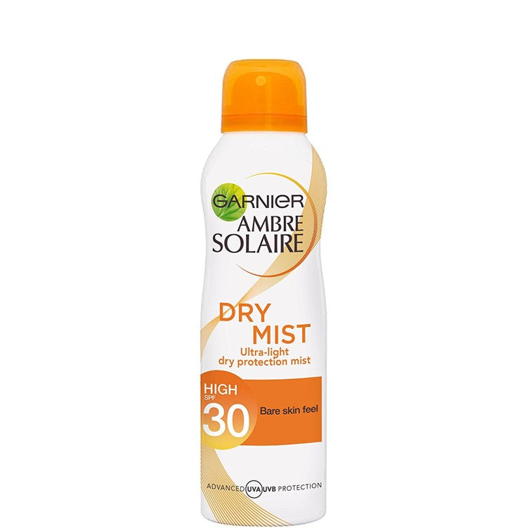 Garnier Ambre Solaire Dry Mist Sun Cream Spray SPF30 200ml