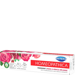 Astera Homeopathic Toothpaste Parodont Rose & Arnica Melange 75ml