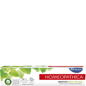 Astera Sensitive Natural Homeopathic Toothpaste Spicy Melissa 75ml