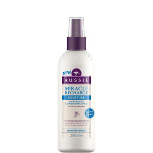 Aussie Miracle Recharge Moisture Leave In Conditioning Spray 250ml