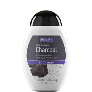 Beauty Formulas Charcoal Body Wash 250ml