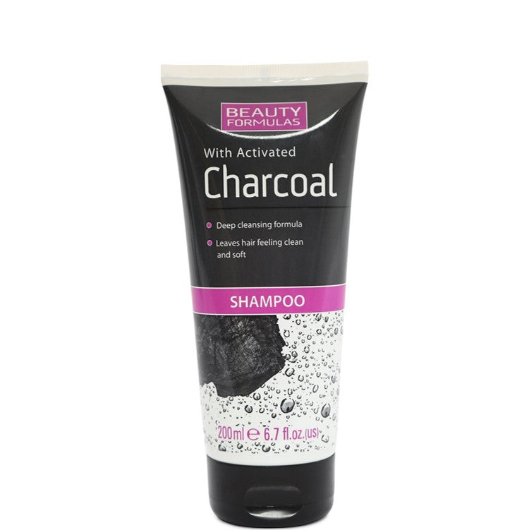 Beauty Formulas Charcoal Shampoo 200ml