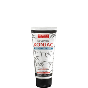 Beauty Formulas Exfoliating Konjac Facial Cleanser 100ml