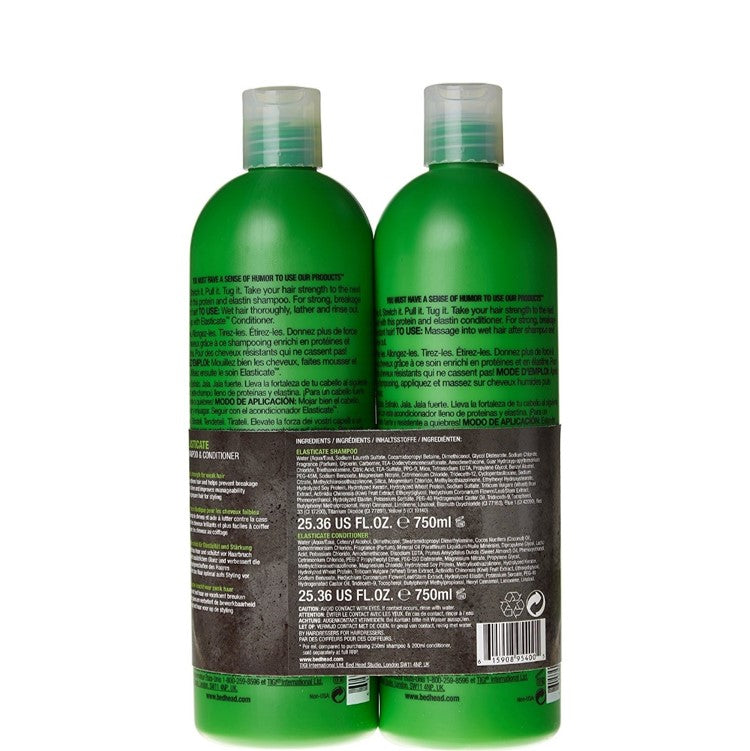 TIGI Bed Head Elastic Hair Strength Duo Shampoo & Conditioner 2x750ml