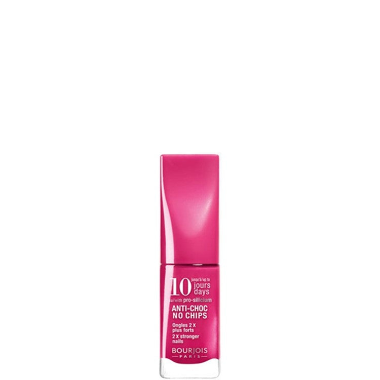 Fuchsia 15 Bourjois 10 Days Anti-Choc No Chips Nail Polish