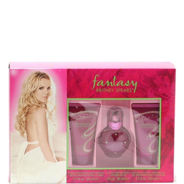 Britney Spears Fantasy 3 Piece Fragrance Gift Set