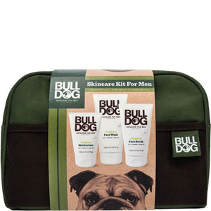 Bulldog Skincare Kit for Men with Wash Bag