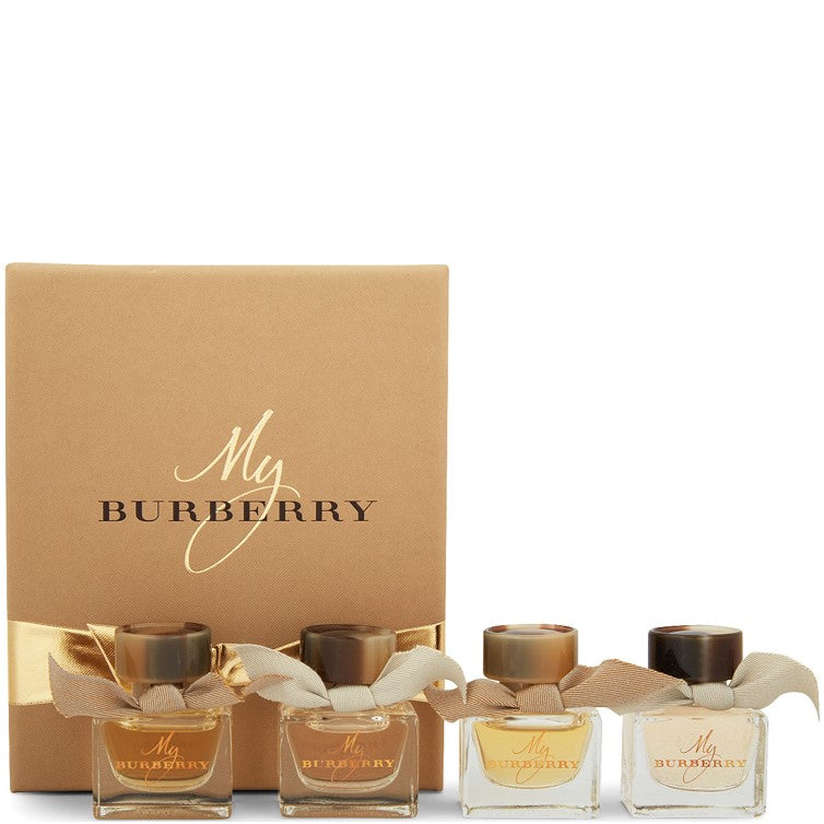 "Burberry ""My Burberry"" Mini 4 Piece 5ml Gift Set REDUCED!"
