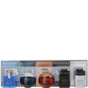 Bvlgari Collection 5 Piece Gift Set for Men REDUCED!