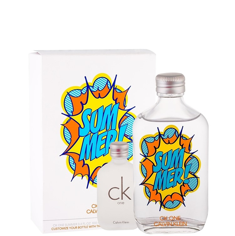 CK One Summer 100ml Eau de Toilette Spray & CK One 15ml Eau de Toilette