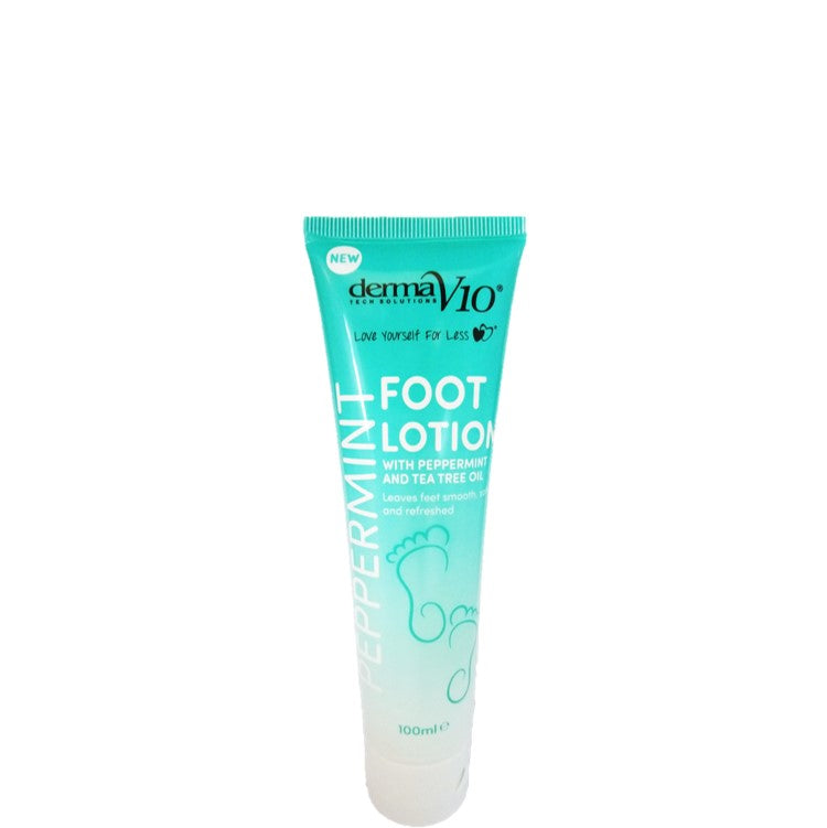 Derma V10 Peppermint Foot Lotion 100ml
