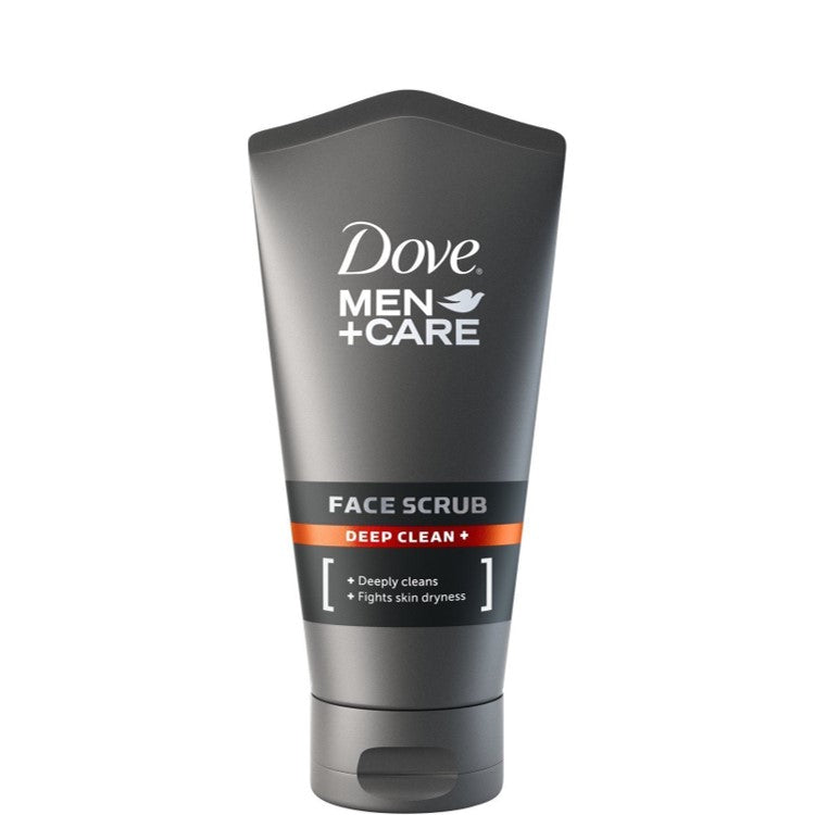 Dove Men+Care Deep Clean Face Scrub 150ml